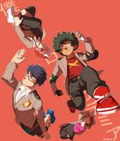 LET'S BE HEROES by xShieru