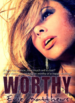 Worthy E-Book cover by bookcoverbydesign
