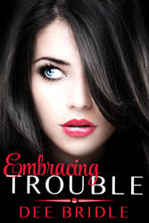 Embracing Trouble E-Book Cover by bookcoverbydesign
