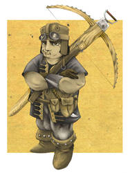 Crossbowman by Iron-Flag