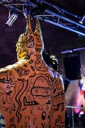 Batman - Yellow Arty by theahuramazda