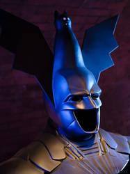 Batman  - Cat Hood by theahuramazda
