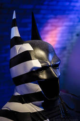 Batman - Striped by theahuramazda