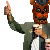 Freddy Thumbs Up Icon