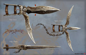 POP Hunter weapon by barontieri
