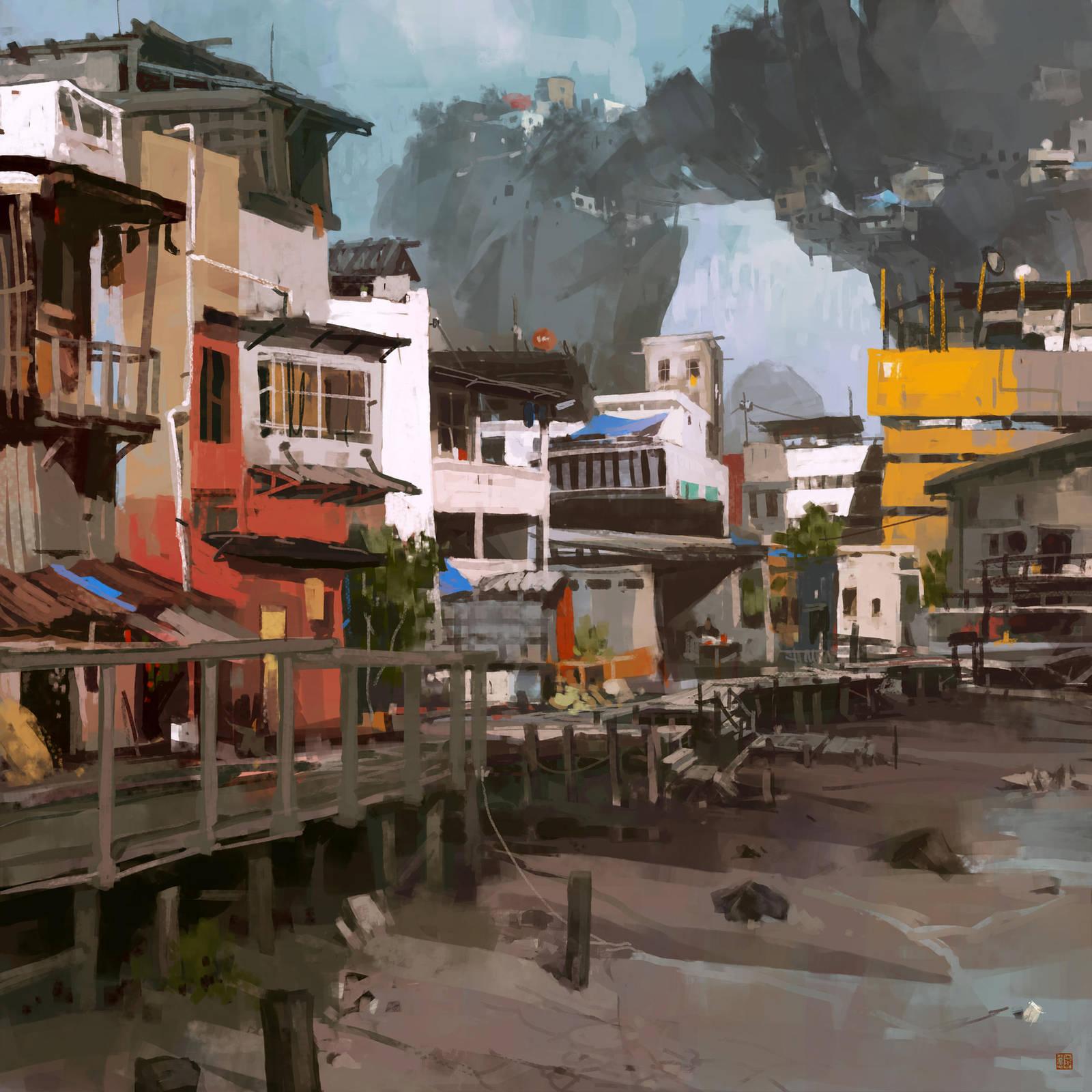 BT_Carambola_Env_Slum02 by barontieri