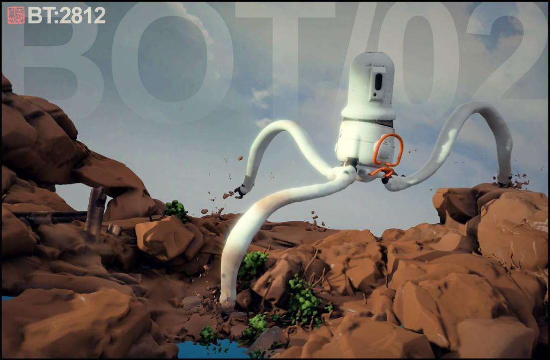 Mudbot TR3P001_1 by barontieri