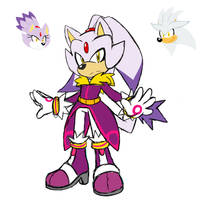 Silver and Blaze_fusion by sonamy43