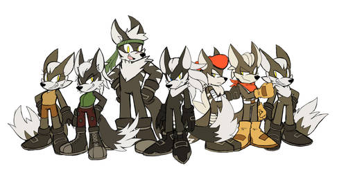 The Jackal Squad by sonamy43