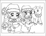 Christmas bakery by Chibivi-Linearts