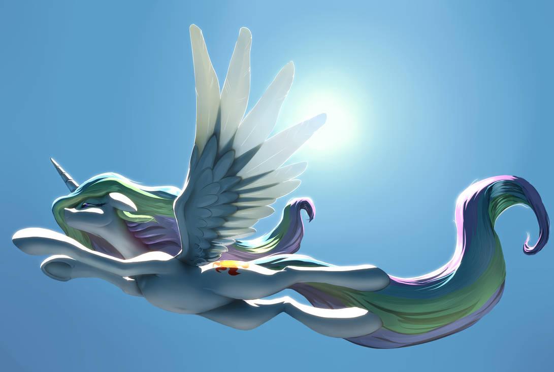 Light Flight by NadnerbD