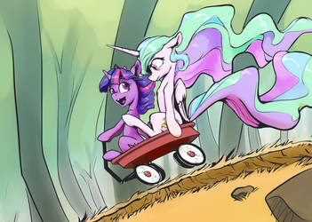 Arbitrarily, I choose left by NadnerbD