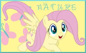 Nature Fluttershy Signature by AliceHumanSacrifice0