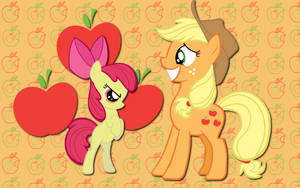 AJ and Apple Bloom WP by AliceHumanSacrifice0