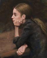 Portrait study by arthurgain