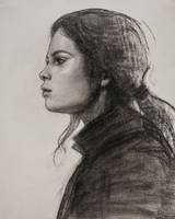 Portrait sketch by arthurgain