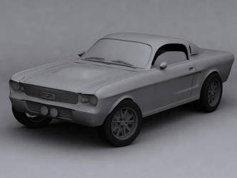Mustang eleanor 1967 by Phoboss88