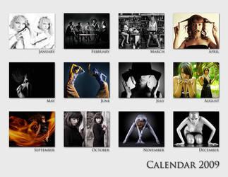 Girls calendar by Frider