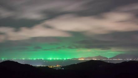 Koh Phangan's Green Light by Frider
