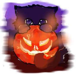Halloween Kitty by beauty888