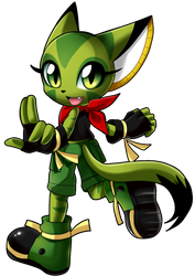 Carol the Wildcat by SpacemanStrife
