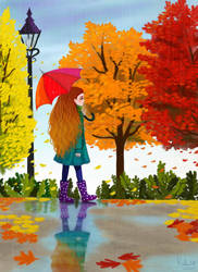 autumn by bodymemory