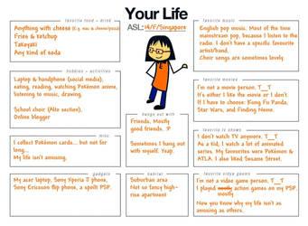 My Life (meme) by Vongxm