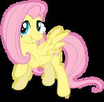 Fluttershy - D'awwww Winged by Bronyvectors