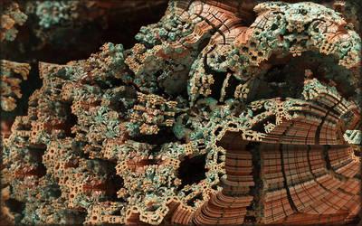 Twisted Plastic Mandelbox by efi-germany