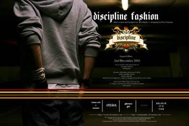 discipline invitation advert. by Scazza