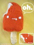 orange pop amigurumi first try by ilovegravy