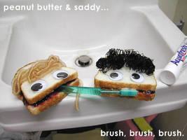 sandwich brushing fun by ilovegravy