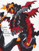 darkarius darkrai and giratna by Phatmon