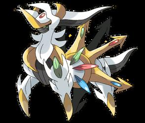 Mega Arceus by Phatmon