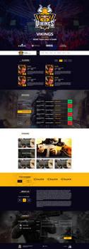 Vikings Gaming by MYeSportdesign