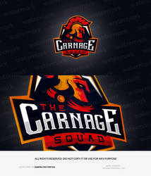 The Carnage Squad - logo by MYeSportdesign