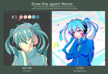 Before and After - Ene by Hinna-chan