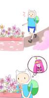 Finn and Princess Bubblegum by Viate