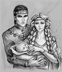 Pavetta and Urcheon of Erlenwald by NastyaSkaya