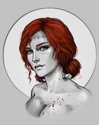 Triss by NastyaSkaya