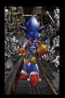 Mecha Sonic is Ready by Degalon