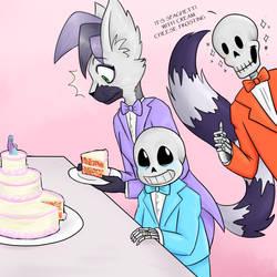 Spaghetti Cake by lemurcat