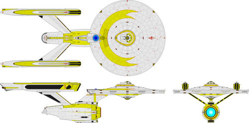 Heavy Cruiser - Constitution Class Refit TE by Kelso323