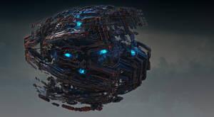 Autonomous Alien Reconnaissance Drone by keenansun