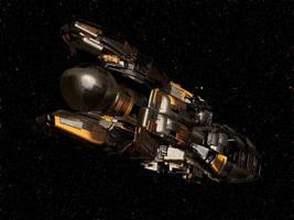 Deep Space Science Explorer Vessel by keenansun