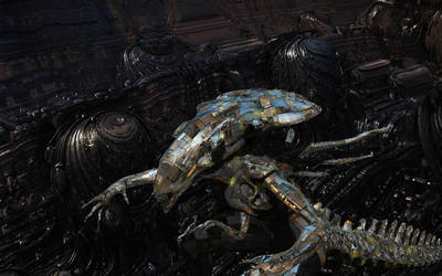 Alien Enhanced Hybrid by keenansun