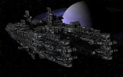 Atlas Class Cruiser by keenansun