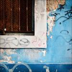 Blue Writting by PurpleMagazine