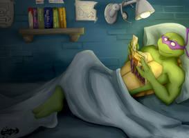 Night reading: Donatello by Mashak-B