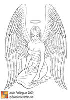 angel serenity by LouBrication